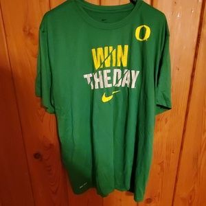 Oregon nike shirt drifit